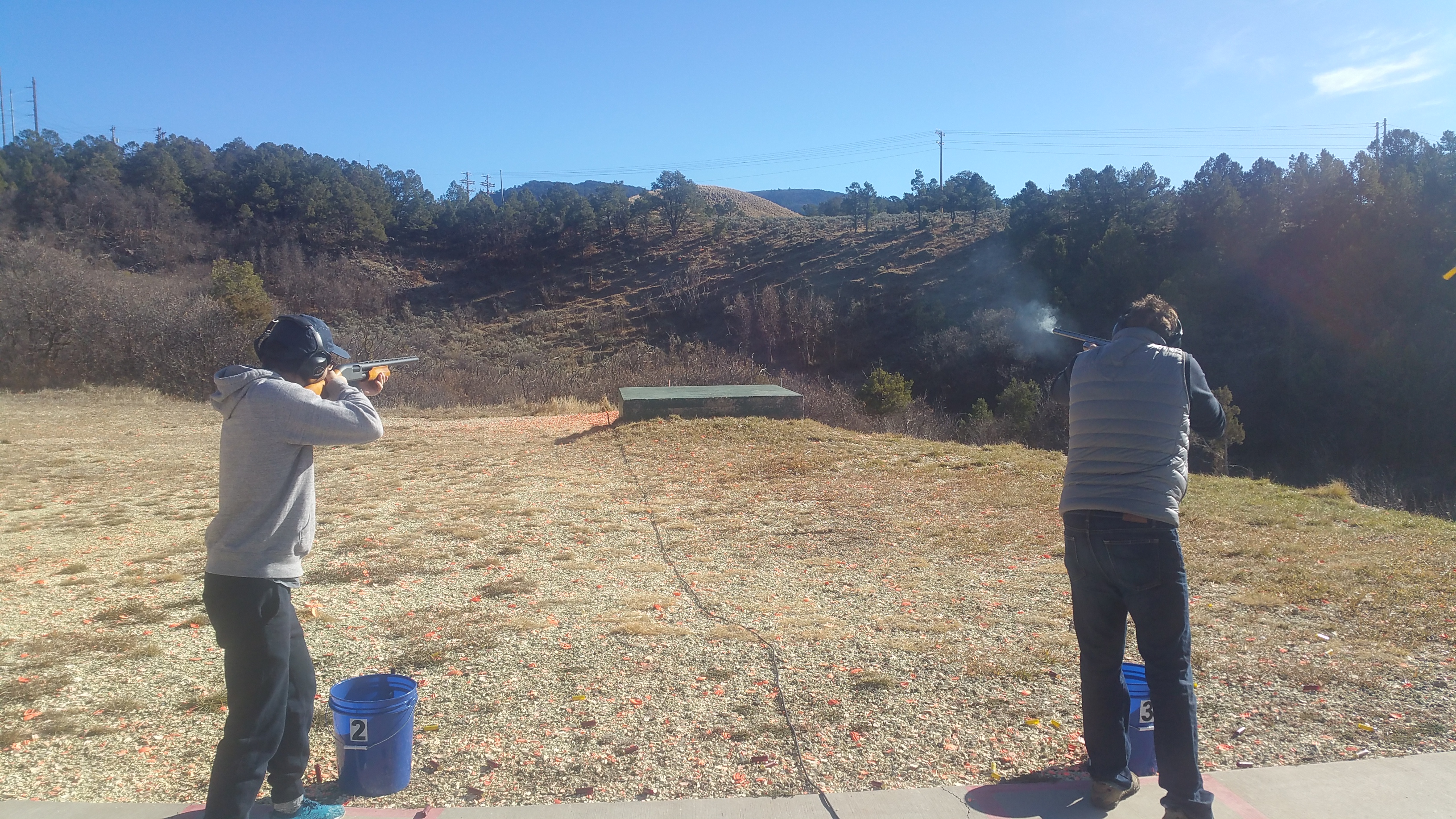 Shotgun sports in Basalt Colorado