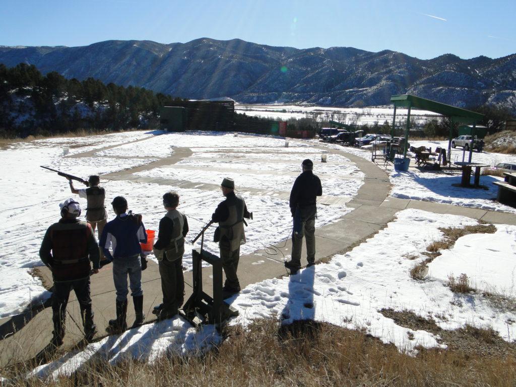 All season outdoor Aspen shooting activity