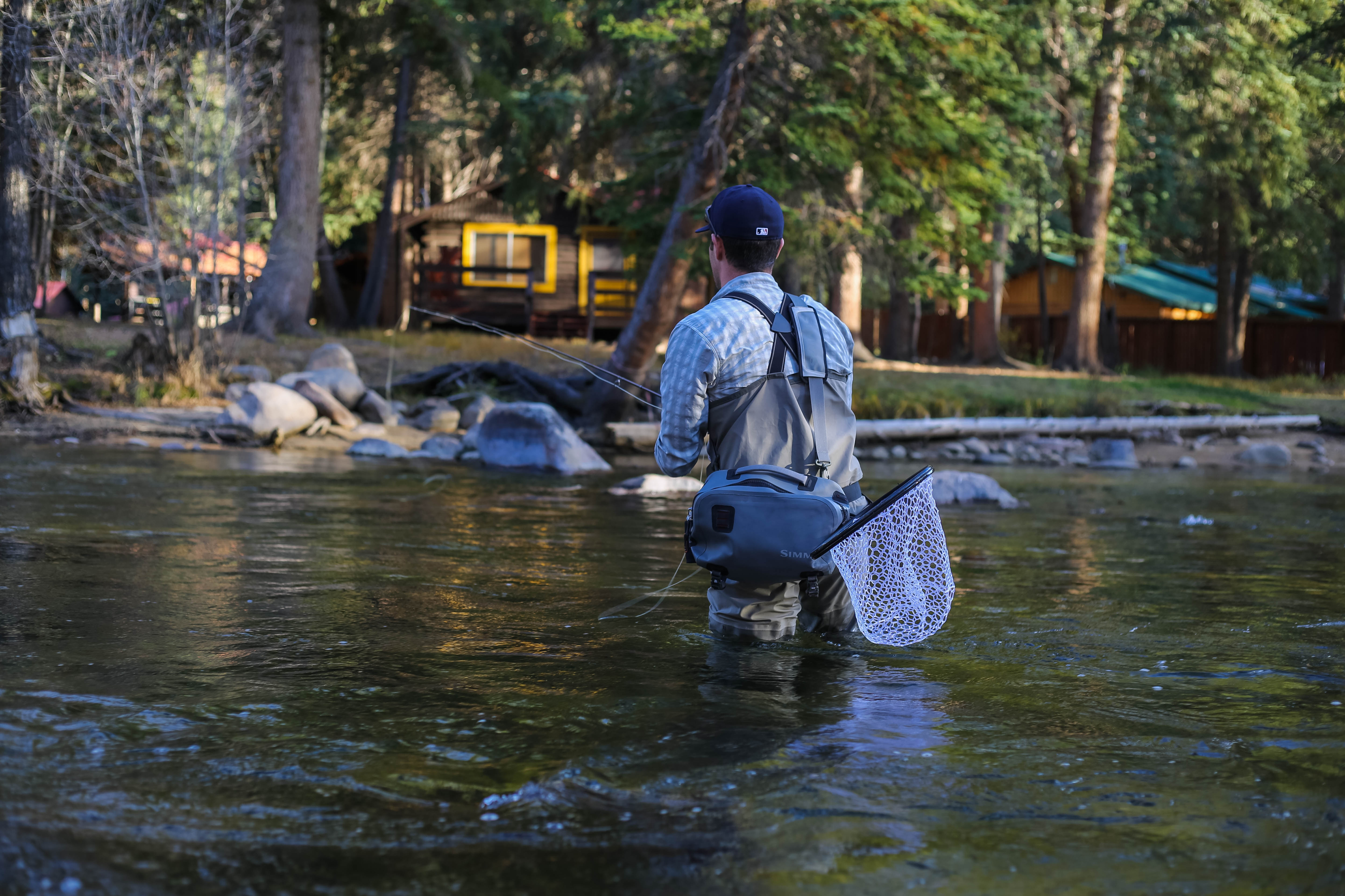 Cast and blast - fishing and shooting in Aspen Colorado