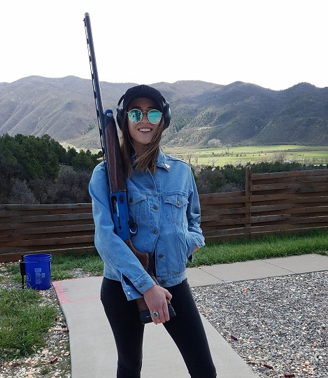 Beginners, experts shoot on the shotgun range in Basalt