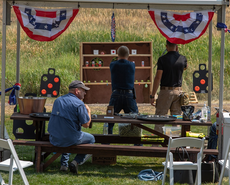 Custom shooting activities for group events