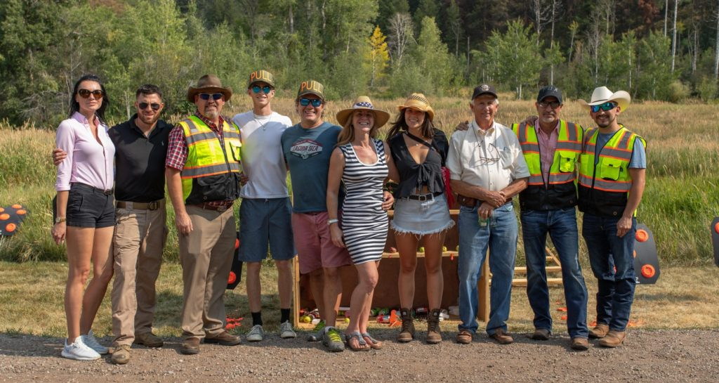 Aspen Shooting activity team for customized group events