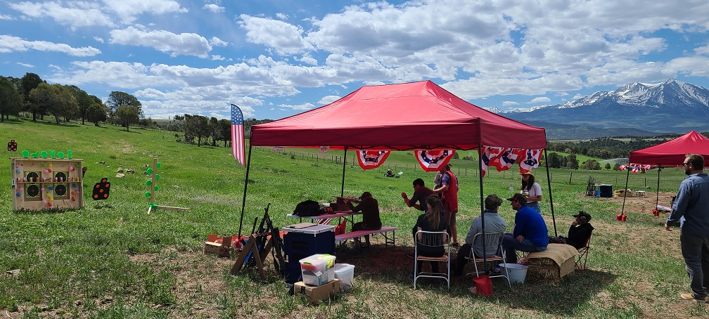 Shooting activities for private ranch events are safe and fun for everyone