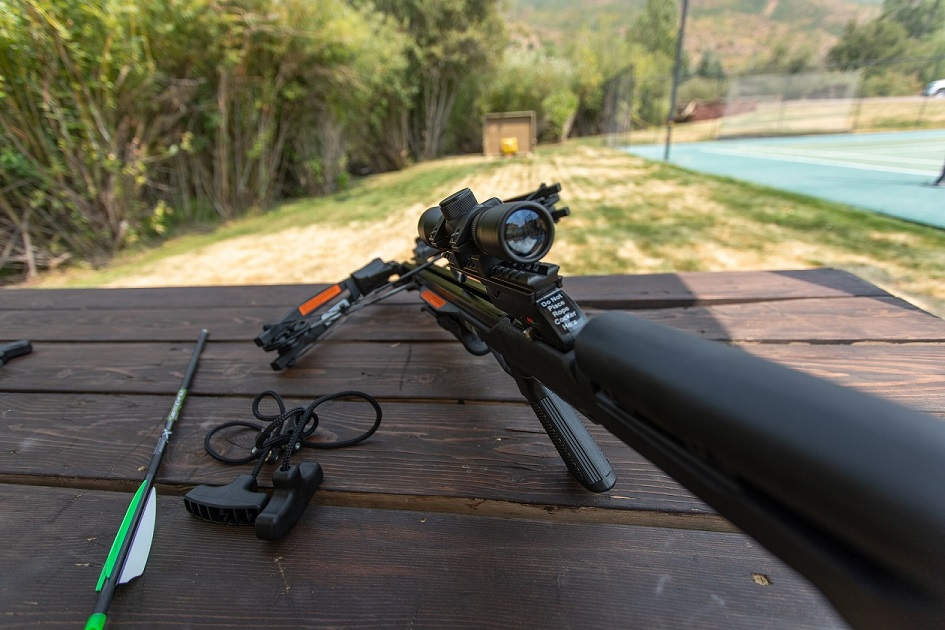 Crossbow marksmanship challenges for group events